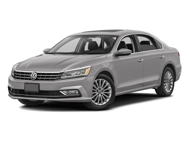 Reflex Silver Metallic 2016 Volkswagen Passat Pictures Passat Sedan 4D SEL Premium I4 Turbo photos front view