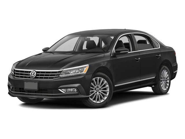 Black Uni 2016 Volkswagen Passat Pictures Passat Sedan 4D SE Technology I4 Turbo photos front view