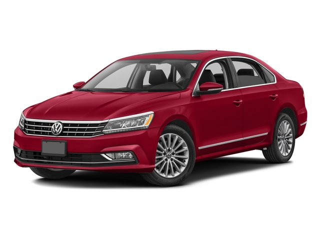 Fortana Red 2016 Volkswagen Passat Pictures Passat Sedan 4D SEL Premium I4 Turbo photos front view