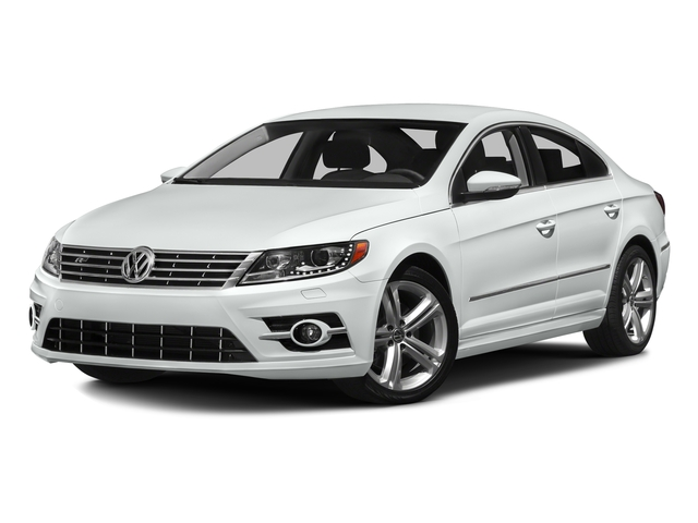 Pure White 2016 Volkswagen CC Pictures CC Sedan 4D R-Line Executive I4 Turbo photos front view