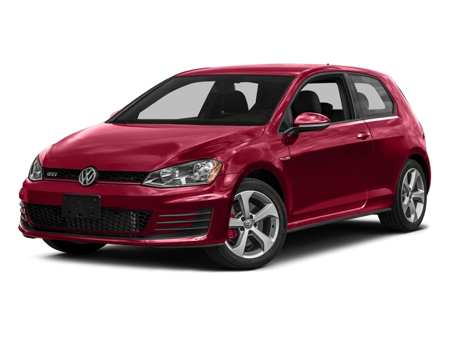 Tornado Red 2016 Volkswagen Golf GTI Pictures Golf GTI Hatchback 2D SE I4 Turbo photos front view
