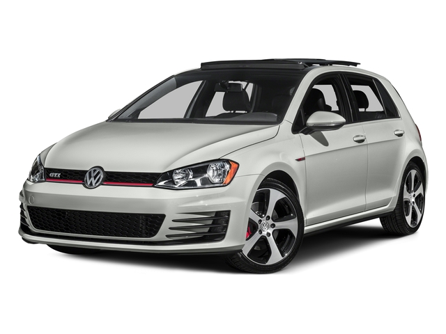Reflex Silver Metallic 2016 Volkswagen Golf GTI Pictures Golf GTI Hatchback 4D S I4 Turbo photos front view