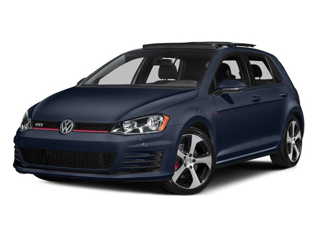 Night Blue Metallic 2016 Volkswagen Golf GTI Pictures Golf GTI Hatchback 4D S I4 Turbo photos front view