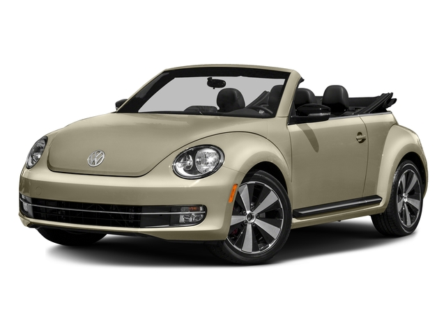 Moonrock Silver Metallic/Black Roof 2016 Volkswagen Beetle Convertible Pictures Beetle Convertible Convertible 2D SEL I4 Turbo photos front view