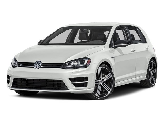 Oryx White Pearl 2016 Volkswagen Golf R Pictures Golf R Hatchback 4D R AWD I4 Turbo photos front view