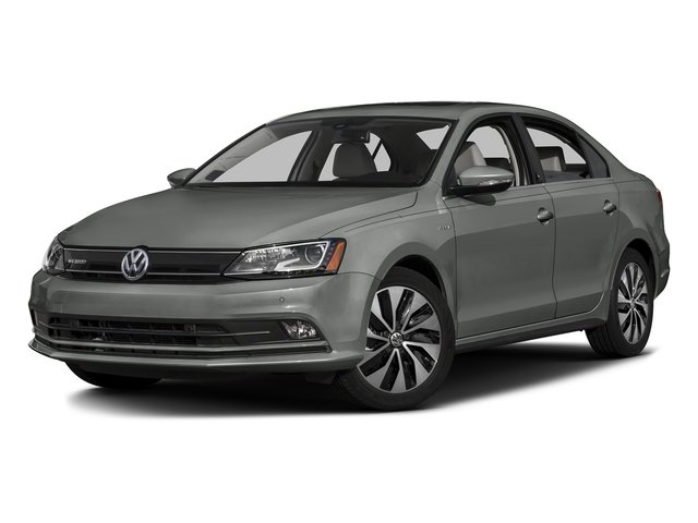 Platinum Gray Metallic 2016 Volkswagen Jetta Sedan Pictures 4d Sel Premium Turbo Hybrid Photos