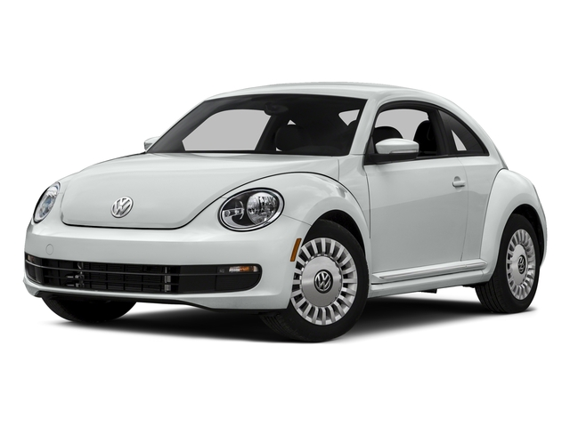 Pure White 2016 Volkswagen Beetle Coupe Pictures Beetle Coupe 2D R-Line SEL I4 Turbo photos front view