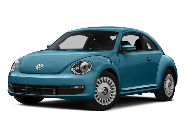 Silk Blue Metallic 2016 Volkswagen Beetle Coupe Pictures Beetle Coupe 2D R-Line SEL I4 Turbo photos front view