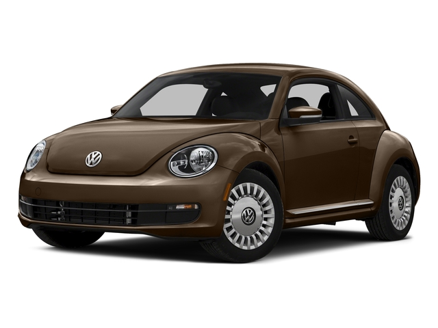 Dark Bronze Metallic 2016 Volkswagen Beetle Coupe Pictures Beetle Coupe 2D SE I4 Turbo photos front view