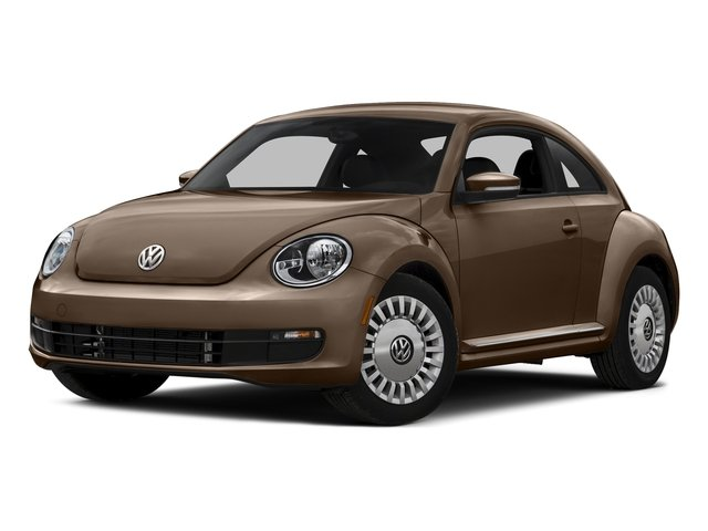 Toffee Brown Metallic 2016 Volkswagen Beetle Coupe Pictures Beetle Coupe 2D SE I4 Turbo photos front view