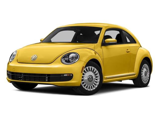 Yellow Rush 2016 Volkswagen Beetle Coupe Pictures Beetle Coupe 2D SE I4 Turbo photos front view