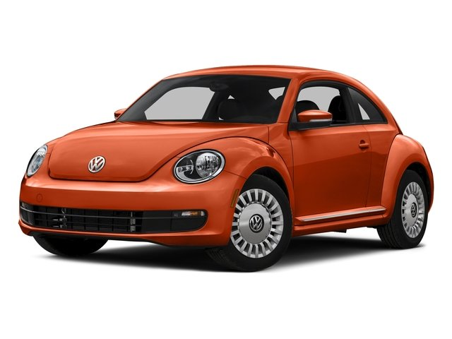 Habanero Orange Metallic 2016 Volkswagen Beetle Coupe Pictures Beetle Coupe 2D R-Line SEL I4 Turbo photos front view