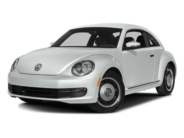 Pure White 2016 Volkswagen Beetle Coupe Pictures Beetle Coupe 2D Classic I4 Turbo photos front view