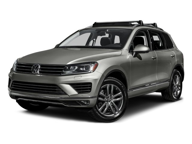 Canyon Gray Metallic 2016 Volkswagen Touareg Pictures Touareg Utility 4D Executive AWD V6 photos front view