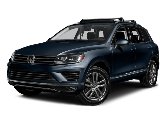 Moonlight Blue Pearl 2016 Volkswagen Touareg Pictures Touareg Utility 4D Executive AWD V6 photos front view