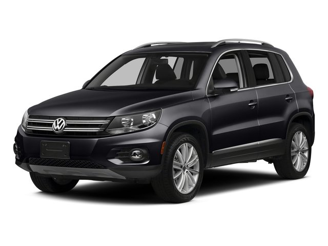 Deep Black Pearl 2016 Volkswagen Tiguan Pictures Tiguan Utility 4D SEL AWD I4 Turbo photos front view