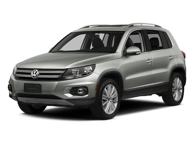 Reflex Silver Metallic 2016 Volkswagen Tiguan Pictures Tiguan Utility 4D SE 2WD I4 Turbo photos front view