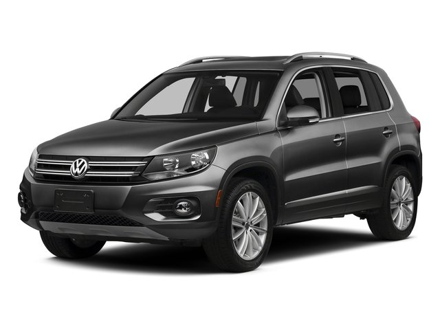 Panther Gray Metallic 2016 Volkswagen Tiguan Pictures Tiguan Utility 4D SE 2WD I4 Turbo photos front view
