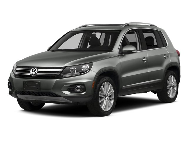 Pepper Gray Metallic 2016 Volkswagen Tiguan Pictures Tiguan Utility 4D SE 2WD I4 Turbo photos front view