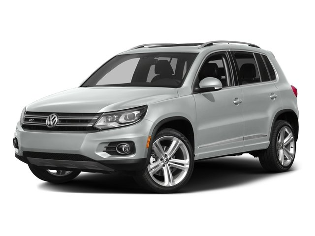 Pure White 2016 Volkswagen Tiguan Pictures Tiguan Utility 4D R-Line 2WD I4 Turbo photos front view
