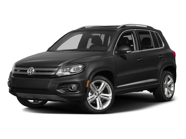 Panther Gray Metallic 2016 Volkswagen Tiguan Pictures Tiguan Utility 4D R-Line 2WD I4 Turbo photos front view