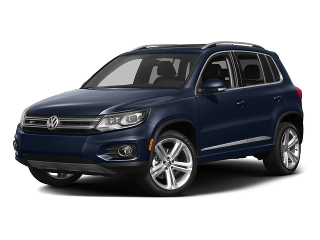 Night Blue Metallic 2016 Volkswagen Tiguan Pictures Tiguan Utility 4D R-Line 2WD I4 Turbo photos front view