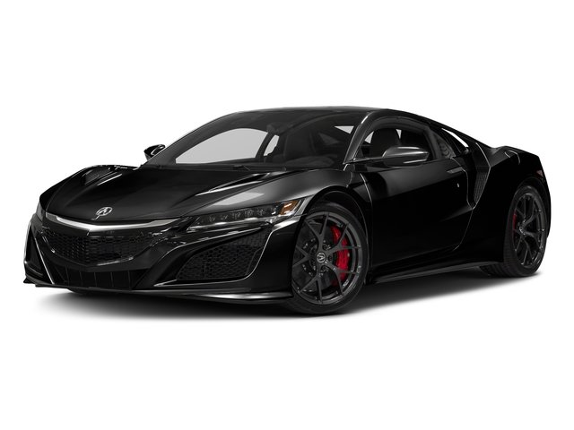 Berlina Black 2017 Acura NSX Pictures NSX Coupe photos front view