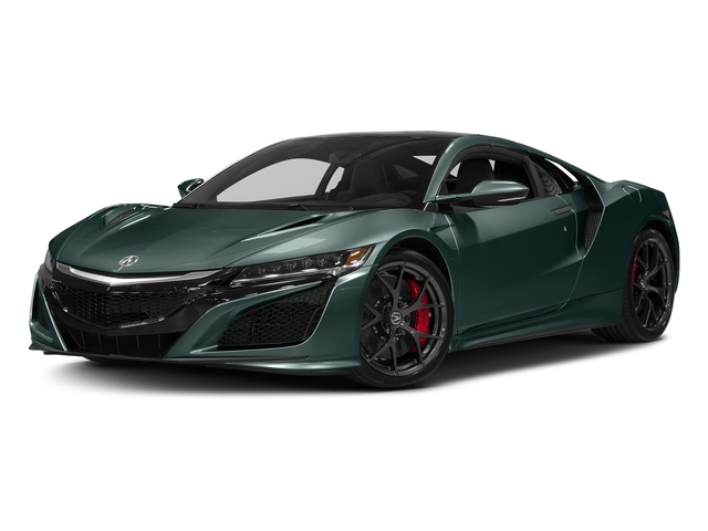 Nord Gray Metallic 2017 Acura NSX Pictures NSX Coupe photos front view