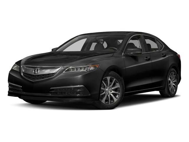 Crystal Black Pearl 2017 Acura TLX Pictures TLX FWD photos front view