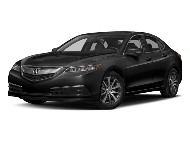 Crystal Black Pearl 2017 Acura TLX Pictures TLX Sedan 4D I4 photos front view