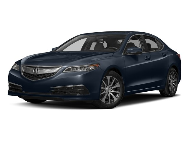 Fathom Blue Pearl 2017 Acura TLX Pictures TLX FWD photos front view