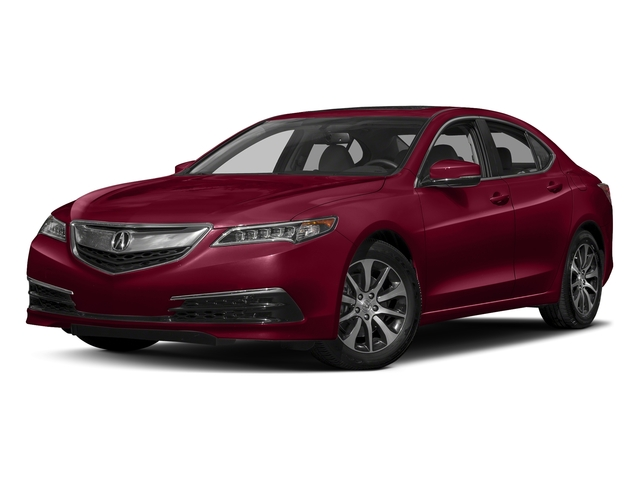 San Marino Red 2017 Acura TLX Pictures TLX FWD photos front view