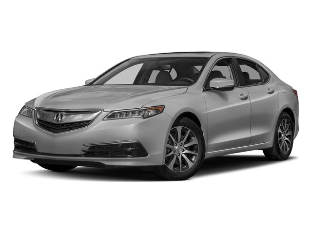 Lunar Silver Metallic 2017 Acura TLX Pictures TLX Sedan 4D I4 photos front view