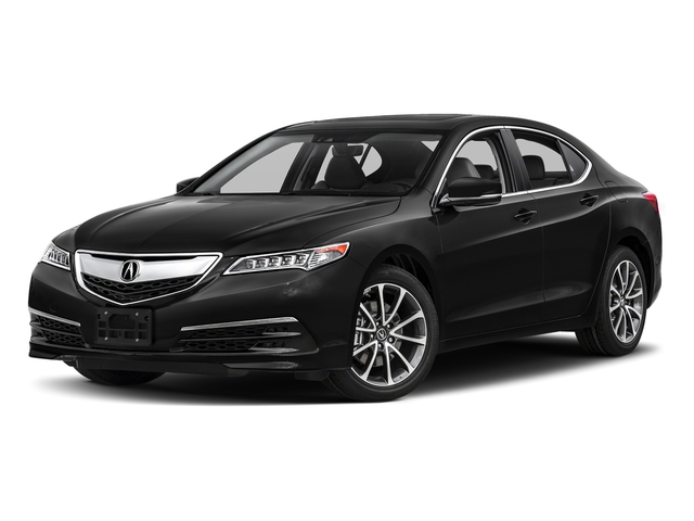 Crystal Black Pearl 2017 Acura TLX Pictures TLX Sedan 4D Technology V6 photos front view