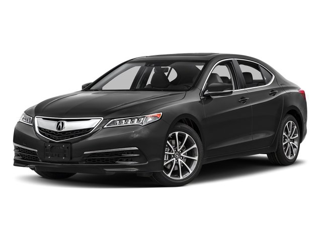 Modern Steel Metallic 2017 Acura TLX Pictures TLX FWD V6 w/Technology Pkg photos front view