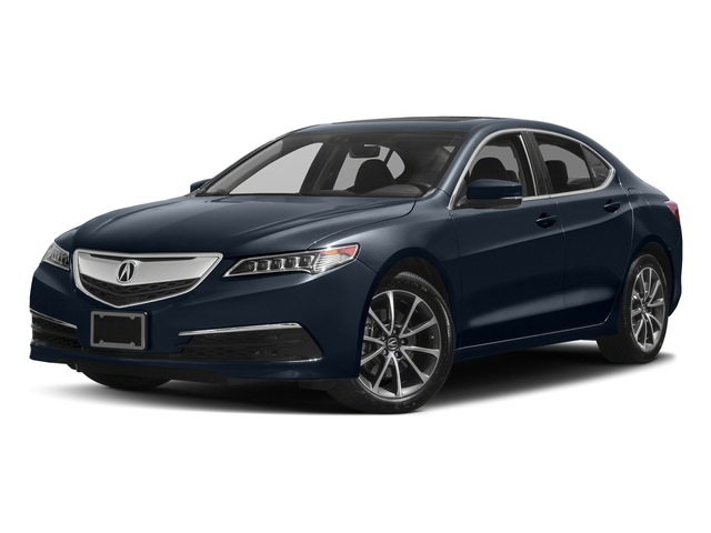 Fathom Blue Pearl 2017 Acura TLX Pictures TLX Sedan 4D Technology AWD V6 photos front view
