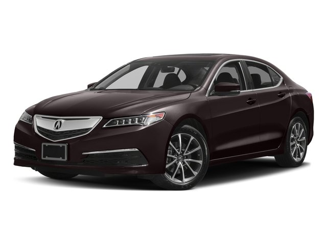 Black Copper Pearl 2017 Acura TLX Pictures TLX Sedan 4D Technology AWD V6 photos front view