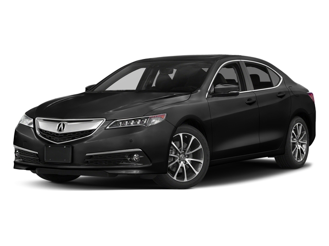 Crystal Black Pearl 2017 Acura TLX Pictures TLX SH-AWD V6 w/Advance Pkg photos front view