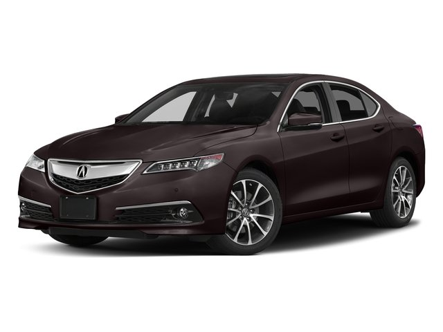 Black Copper Pearl 2017 Acura TLX Pictures TLX Sedan 4D Advance AWD V6 photos front view