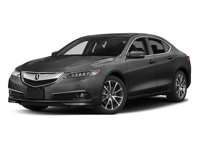 Modern Steel Metallic 2017 Acura TLX Pictures TLX Sedan 4D Advance AWD V6 photos front view