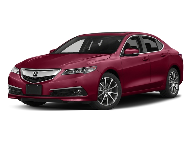 San Marino Red 2017 Acura TLX Pictures TLX Sedan 4D Advance AWD V6 photos front view