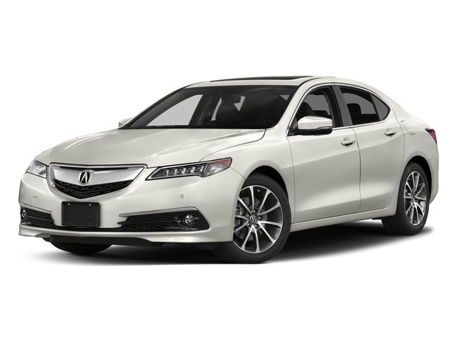 Bellanova White Pearl 2017 Acura TLX Pictures TLX Sedan 4D Advance AWD V6 photos front view