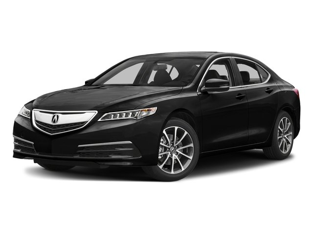 Crystal Black Pearl 2017 Acura TLX Pictures TLX Sedan 4D V6 photos front view