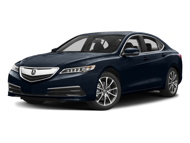 Fathom Blue Pearl 2017 Acura TLX Pictures TLX Sedan 4D V6 photos front view