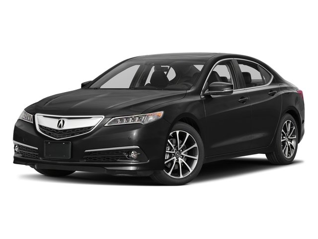 Crystal Black Pearl 2017 Acura TLX Pictures TLX Sedan 4D Advance V6 photos front view