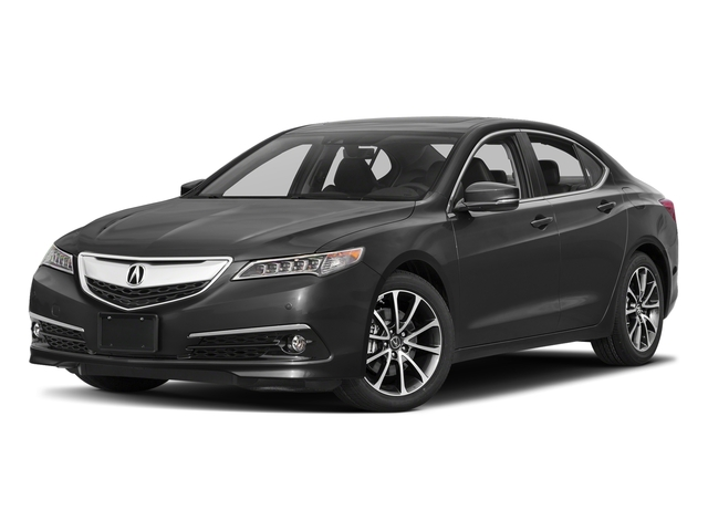 Modern Steel Metallic 2017 Acura TLX Pictures TLX FWD V6 w/Advance Pkg photos front view