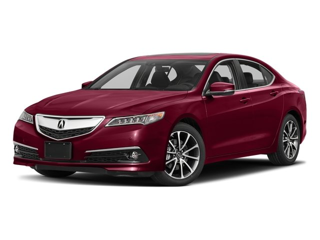San Marino Red 2017 Acura TLX Pictures TLX Sedan 4D Advance V6 photos front view