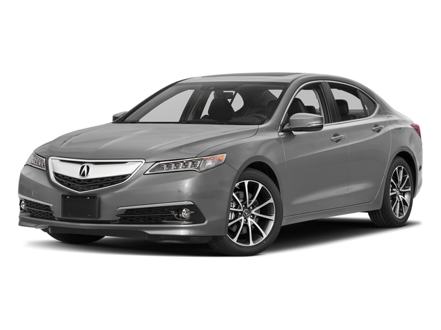 Lunar Silver Metallic 2017 Acura TLX Pictures TLX FWD V6 w/Advance Pkg photos front view