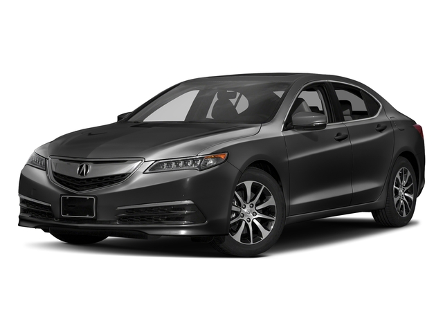 Modern Steel Metallic 2017 Acura TLX Pictures TLX Sedan 4D Technology I4 photos front view