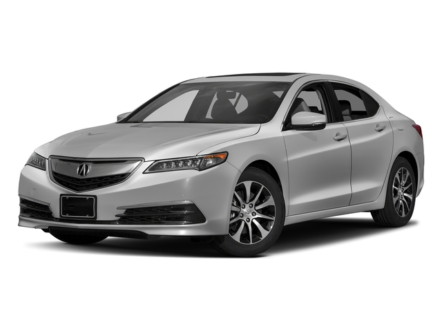 Lunar Silver Metallic 2017 Acura TLX Pictures TLX Sedan 4D Technology I4 photos front view